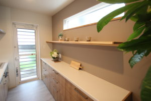 奈良で木の家注文住宅キッチンなら平野木材