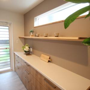 奈良で木の家注文住宅のキッチンなら平野木材