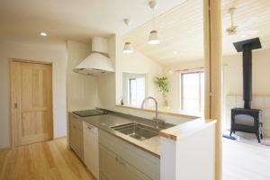奈良の木の家注文住宅リビングなら平野木材