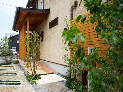 奈良で木の家注文住宅の工務店平野木材が使用する外壁のそとん壁画像