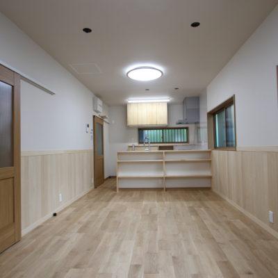 奈良で古民家旧家のリビングリフォームなら木の家注文住宅の工務店平野木材へ