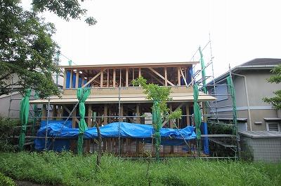 木津市で緑を取り込む木の家新築注文住宅なら奈良の工務店平野木材へ
