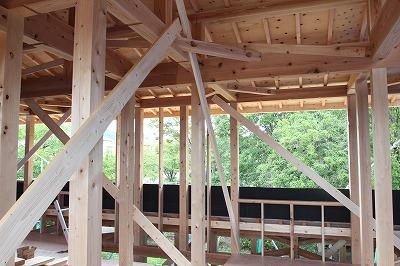 奈良で注文住宅の工務店で緑を取り入れる木の家なら平野木材
