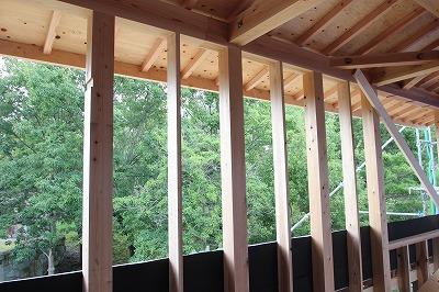 奈良で緑の借景を活かした木の家なら平野木材